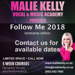 Malie Kelly presents Follow Me 2018