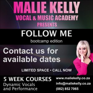 Malie Kelly's Follow Me Music and singing course in Johannesburg, South Africa