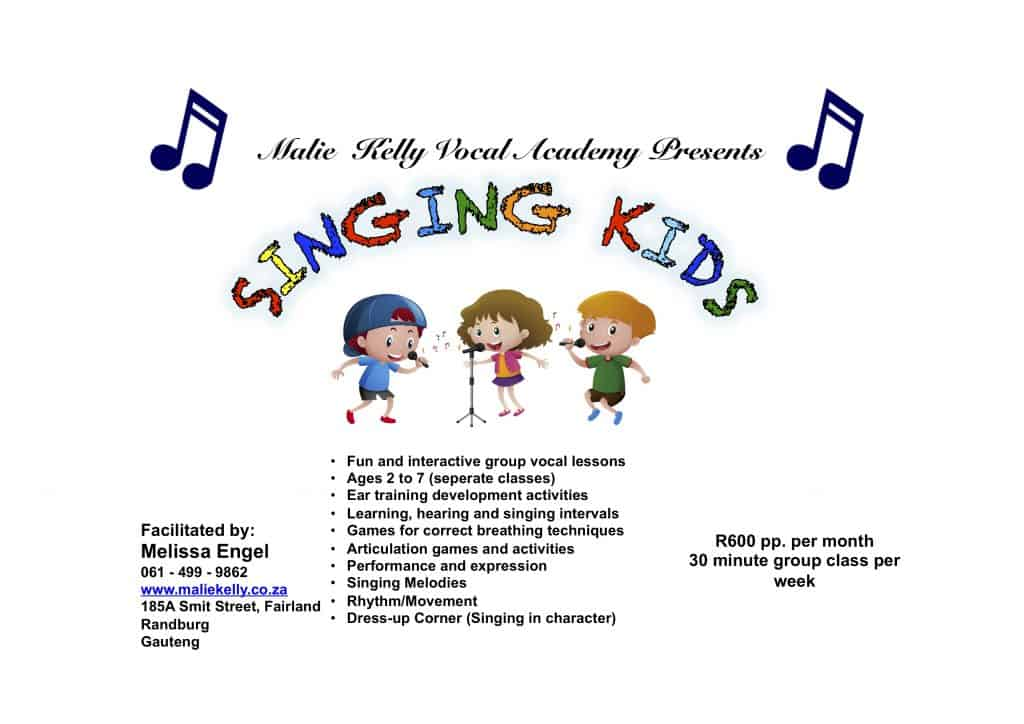 Singing Kids Ad